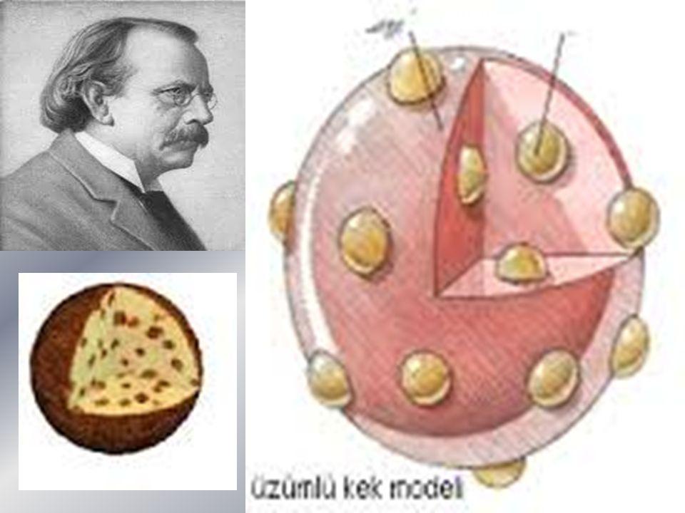 1911 - Rutherford Atom Modeli Güneş sistemine benzeyen atom modeli; Atomun yapısının açıklanması hakkında,önemli katkıda bulunanlardan birisi de Ernest Rutherford (Örnıst Radırford) olarak bilinir.