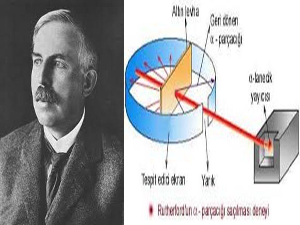 1913 - Bohr Atom Modeli Kuantum teorisinin sahneye çıkışı; Buraya kadar anlatılan atom modellerinde, atomun çekirdeğinde, (+) yüklü proton ve yüksüz nötronların bulunduğu, çekirdeğin etrafında dairesel yörüngelerde elektronların dolaştığı ifade edildi.