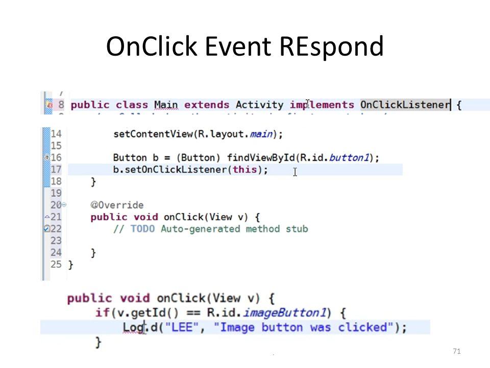 OnClick Event REspond Dr. Mustafa Cem Kasapbasi71