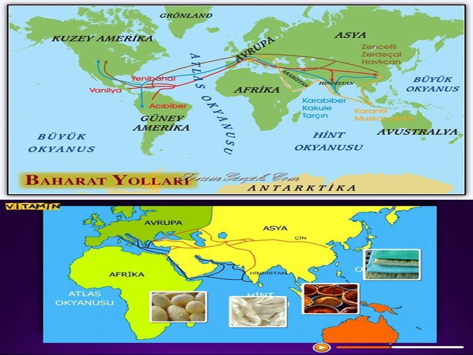Çin den başlayarak Anadolu ve Akdeniz aracılığıyla Avrupa ya kadar uzanan ve dünyaca ünlü ticaret yoludur.