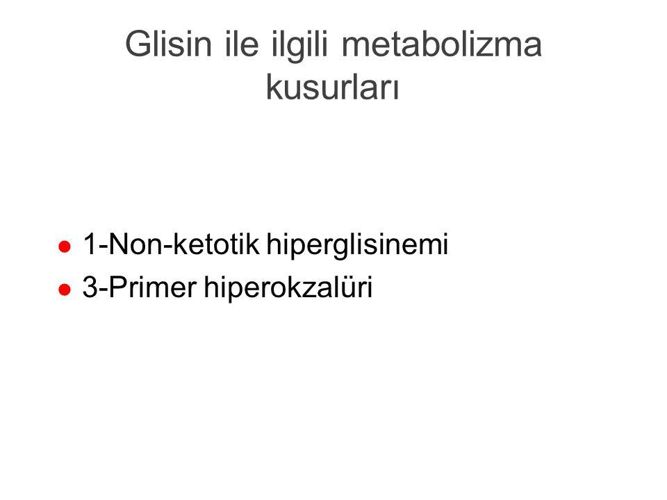 Propiyanat ve metilmalonat metabolizması l Propionil KoA karboksilaz l Metilmalonil KoA mutaz l Tedavi: biyotin/B12