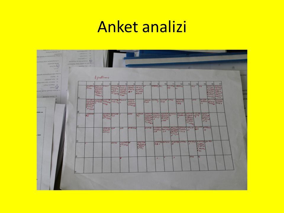 Anket analizi