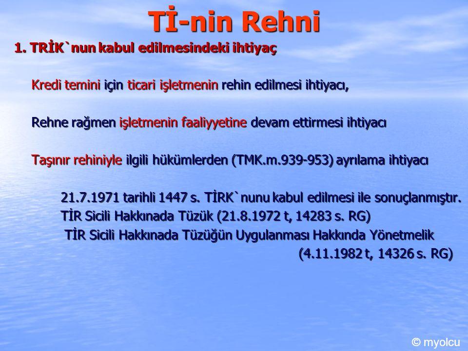 Tİ-nin Rehni 1.
