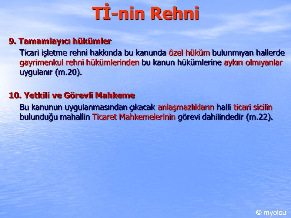 Tİ-nin Rehni 9.