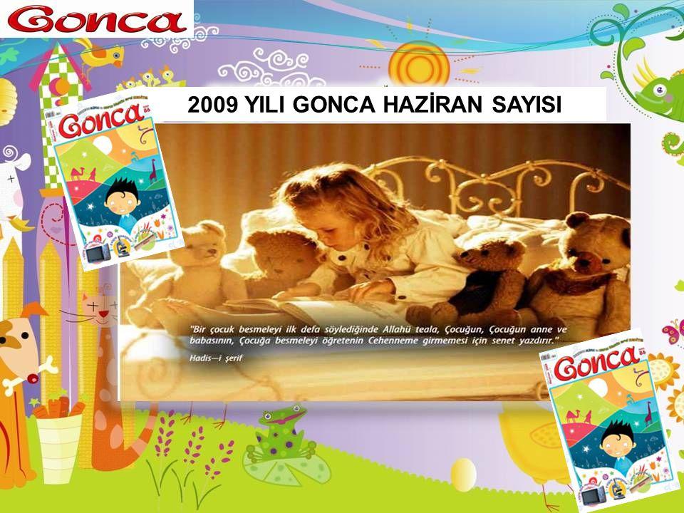 2009 YILI GONCA HAZİRAN SAYISI