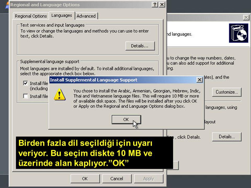 WİN – SET Abidin BAŞ – Cihad KAYALI Birden fazla dil seçildiği için uyarı veriyor.