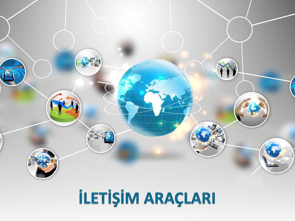 Göz ve kulağa hitap eden, elektrik, elektronik / elektromanyetik, optik teknolojileri kullanarak gerçekleştirilen iletişim araçlarıdır.