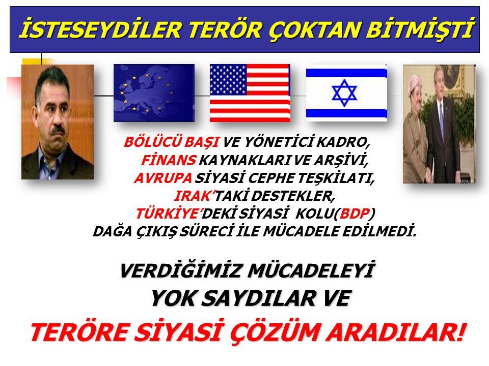 NEDEN PKK'YI YOK ETMİYORLAR PKK İLE İŞİ HENÜZ BİTMEDİ, SIRADA İRAN VE SURİYE VAR.