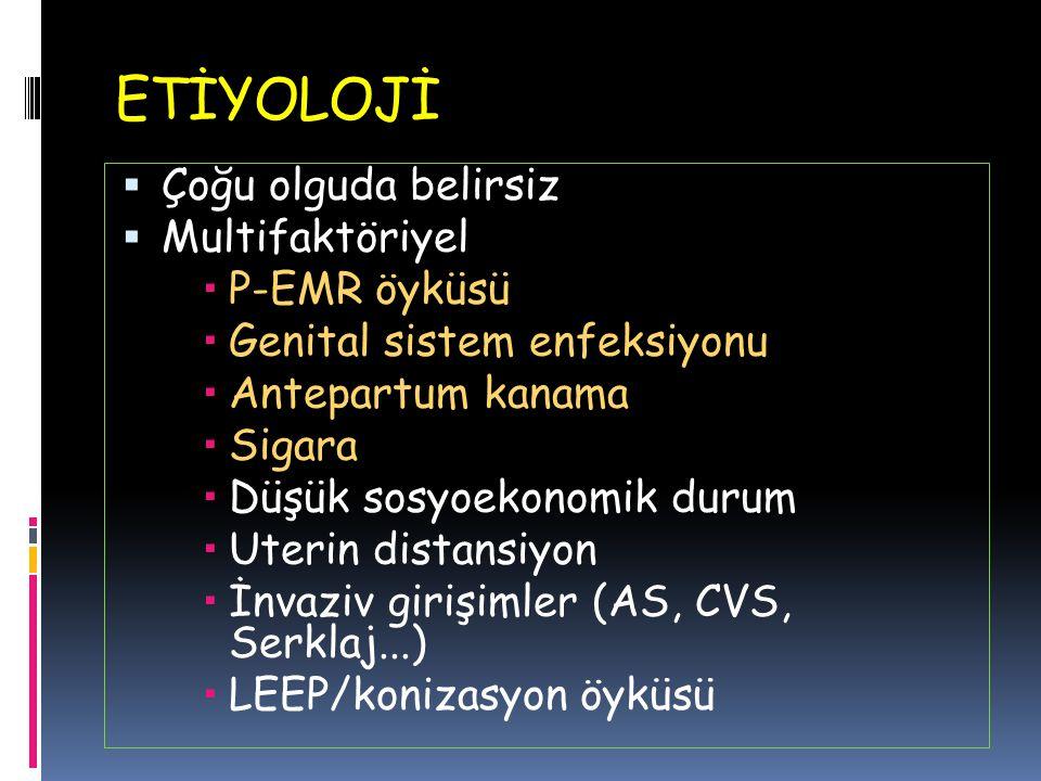 FERNİNG TESTİ CX MUKUSESTR. CX MUKUS AMNİYOTİK SIVI UpToDate.2015