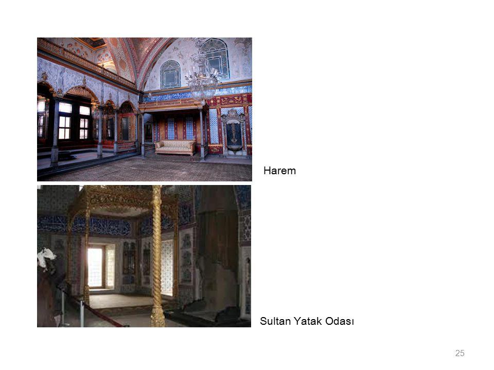 Sultan Yatak Odası 25 Harem
