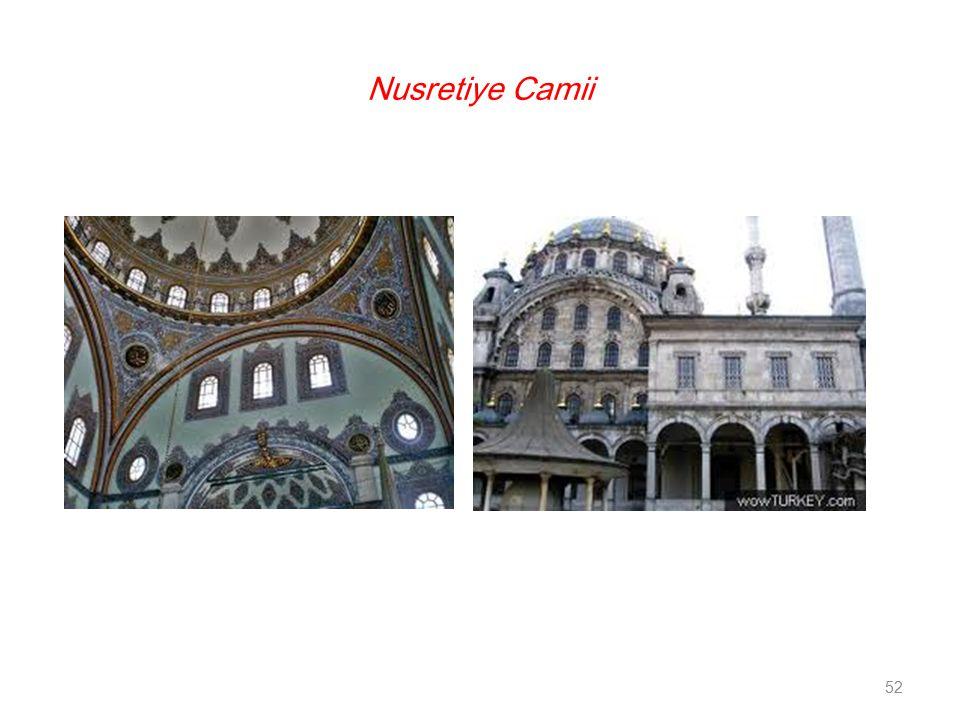 52 Nusretiye Camii