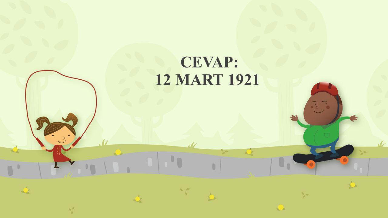CEVAP: 12 MART 1921