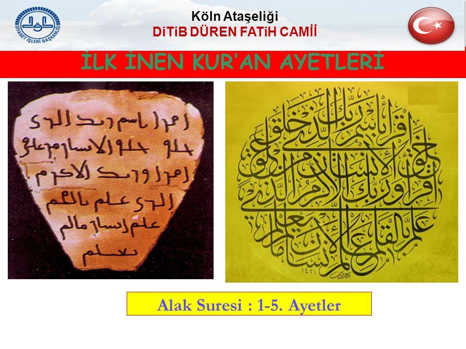 KUR'AN'IN İSİMLERİ Kur'an : En meşhur ismidir.