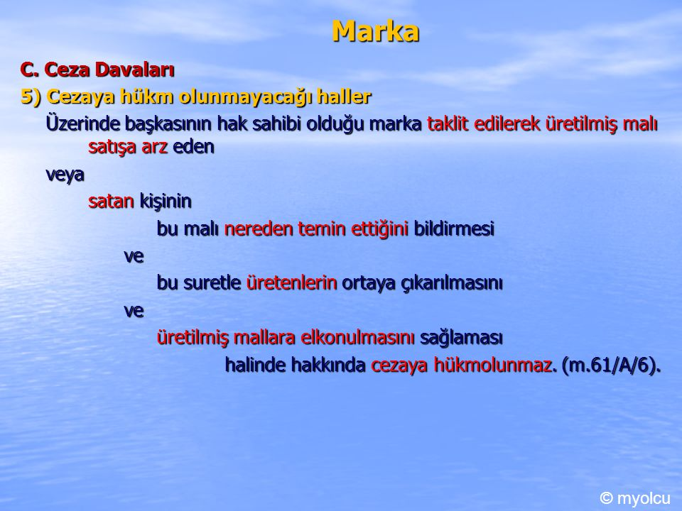 Marka C.