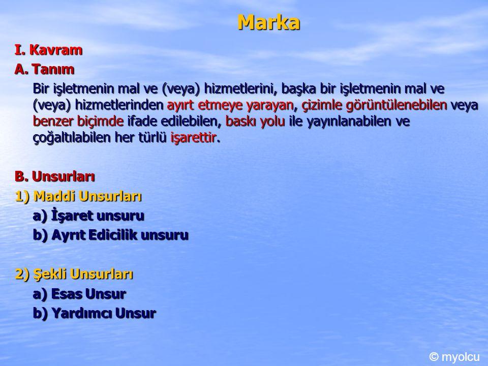 Marka I.Kavram A.