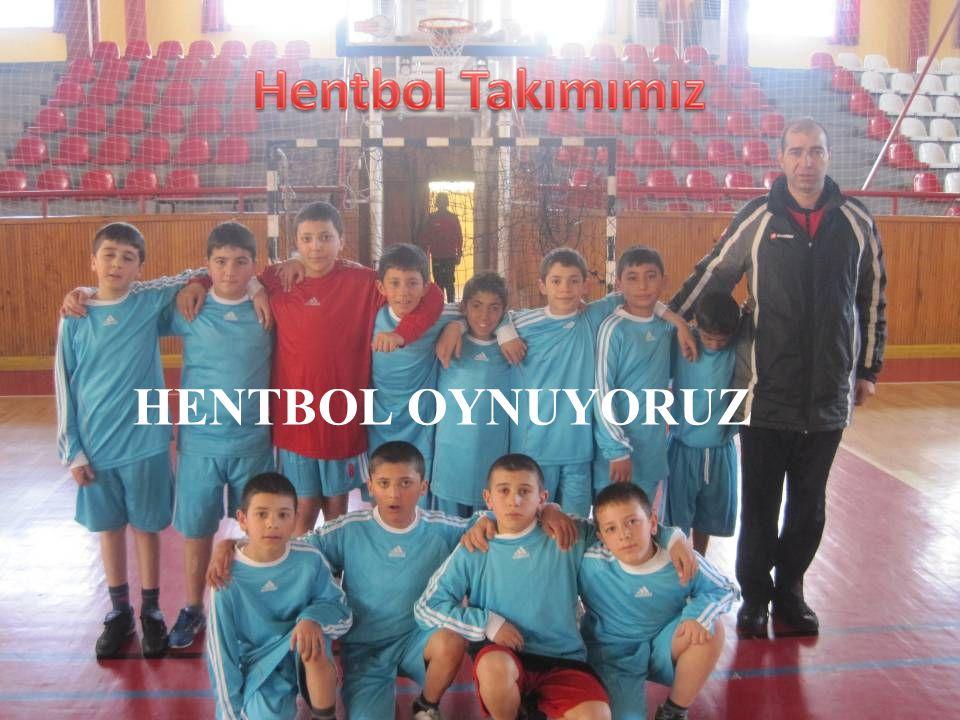 HENTBOL OYNUYORUZ