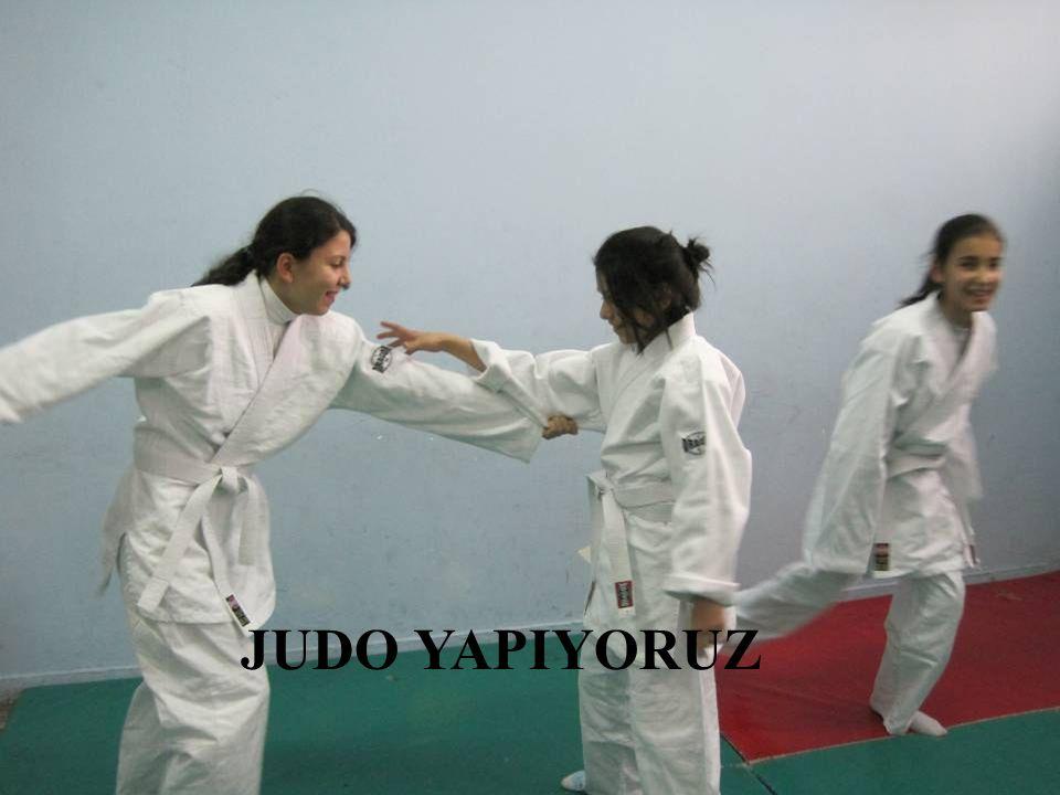 JUDO YAPIYORUZ