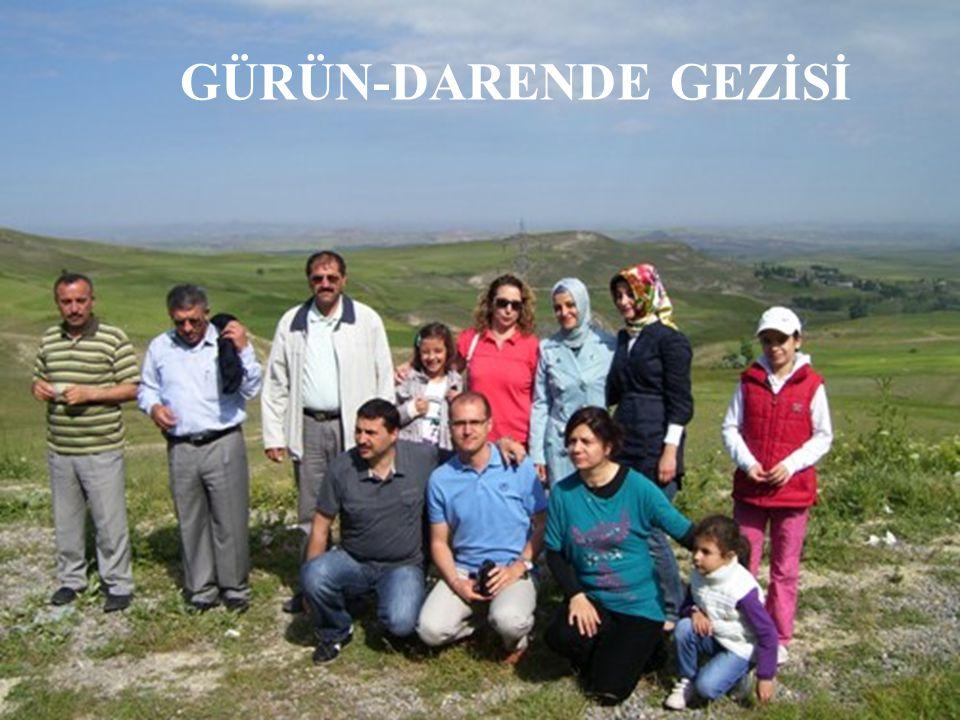 GÜRÜN-DARENDE GEZİSİ
