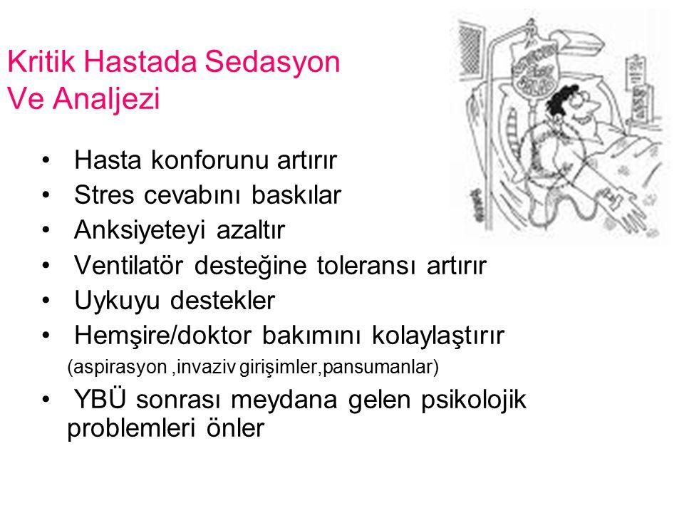 Yoğun Bakım Hastalarında Anksiyete Sebepleri: KONTROL HASTADA DEĞİL!!.