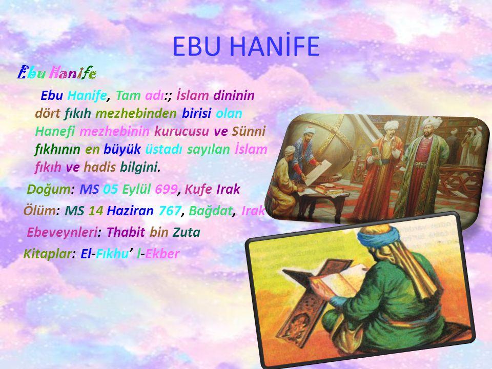 AHMET YESEVİ Ahmet Yesevi ya da Ata Yesevi, Türk mutasavvıf ve şair.