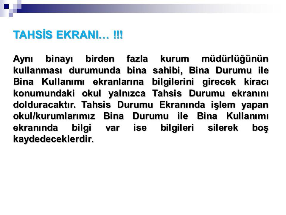 TAHSİS EKRANI… !!.