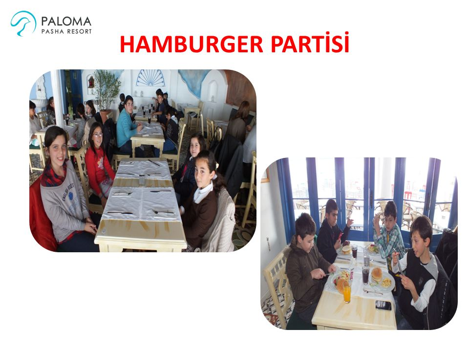 HAMBURGER PARTİSİ