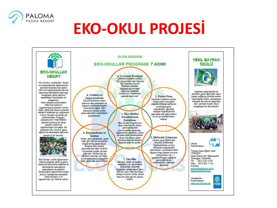 Bu proje kapsamında Paloma Pasha Resort Özdere Oğan Timinci Orta Öğretim Okulu'na Ekim 2014 itibariyle destek olmaktadır.