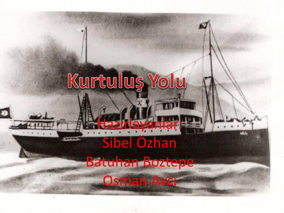 Hazırlayanlar: Sibel Özhan Batuhan Boztepe Osman Avcı