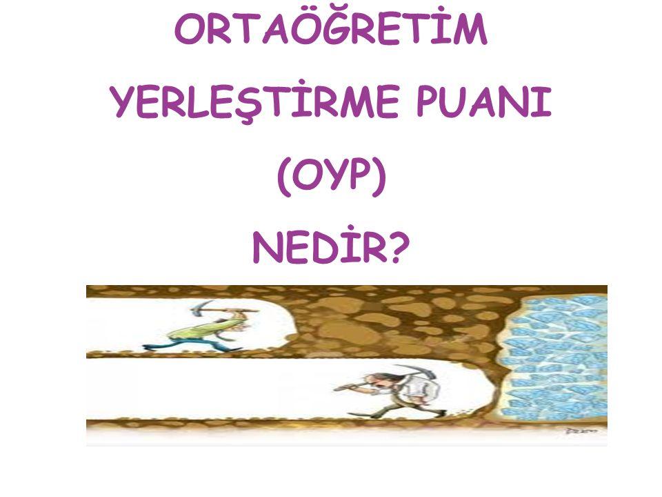 ORTAÖĞRETİM YERLEŞTİRME PUANI (OYP) NEDİR