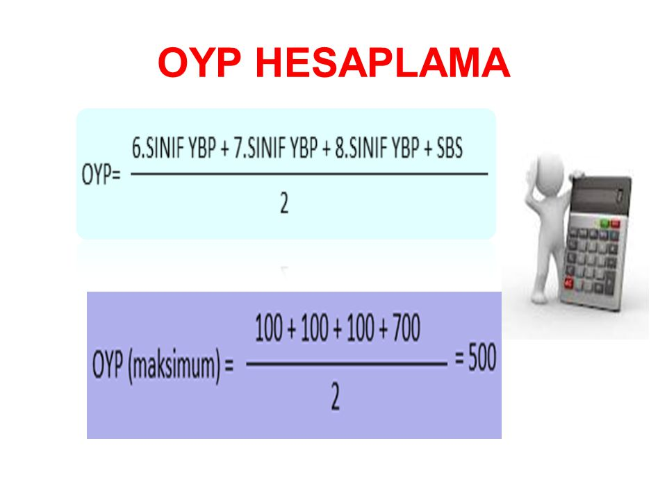 OYP HESAPLAMA