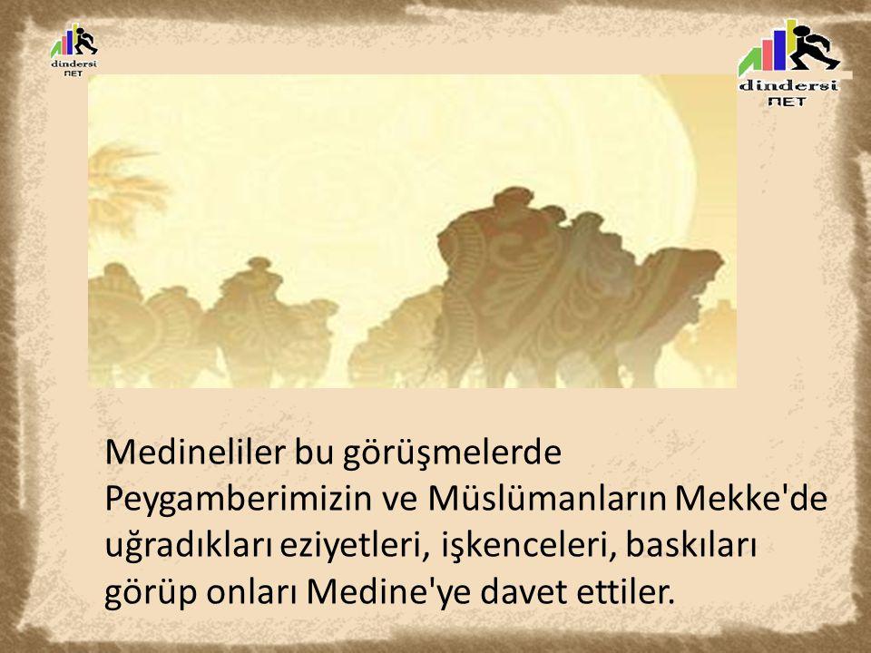 Ensar: Medine de onları karşılayan ve her şeylerini onlarla paylaşan Müslümanlara denir Muhacir: İslamiyet uğruna her şeylerini Mekke de bırakıp Medine ye göç eden Müslümanlara denir.