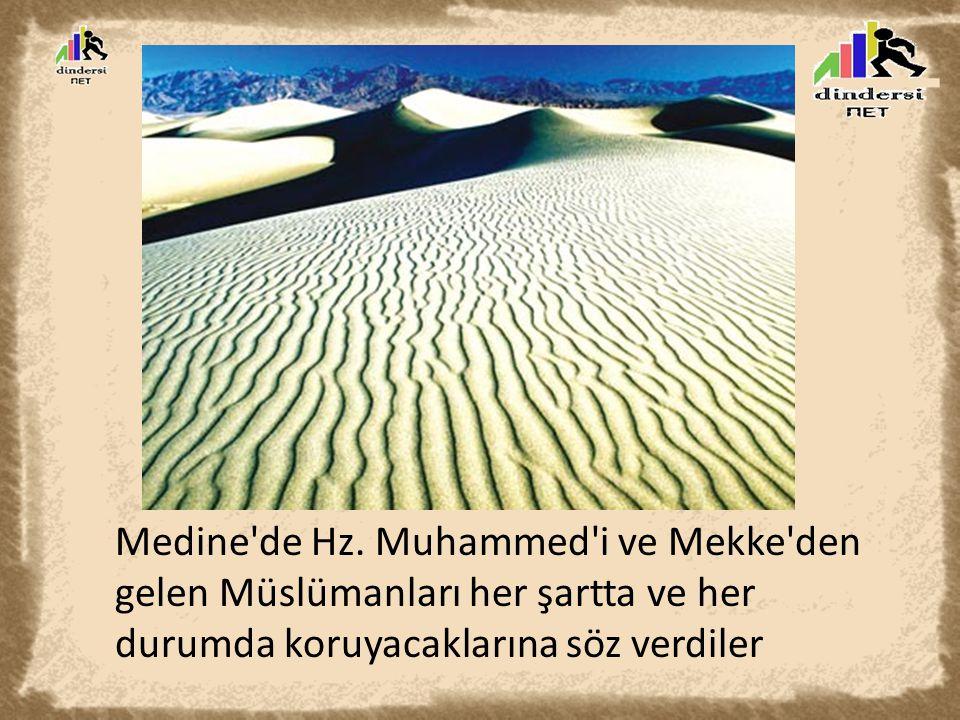 Bunun üzerine Peygamberimiz isteyen Müslümanların Medine ye göçebileceklerini söyledi.