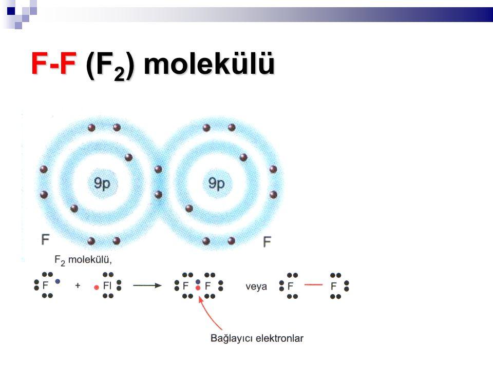 F-F (F 2 ) molekülü