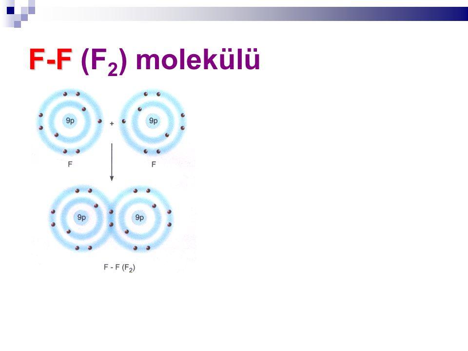F-F F-F (F 2 ) molekülü