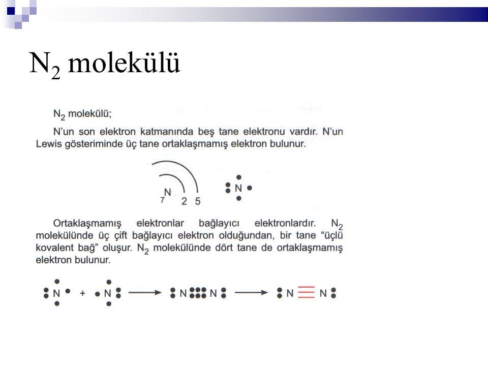 N 2 molekülü