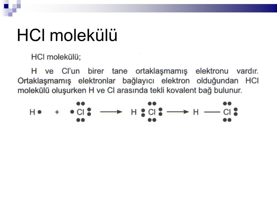 HCl molekülü