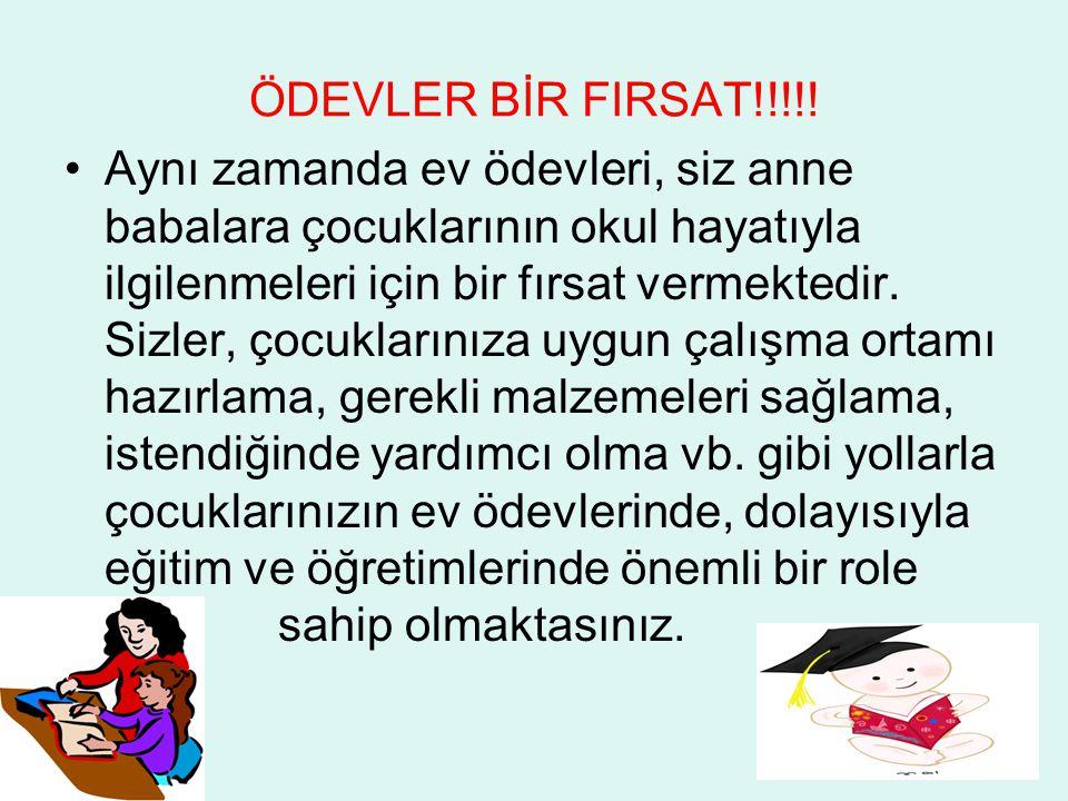 ÖDEVLER BİR FIRSAT!!!!.