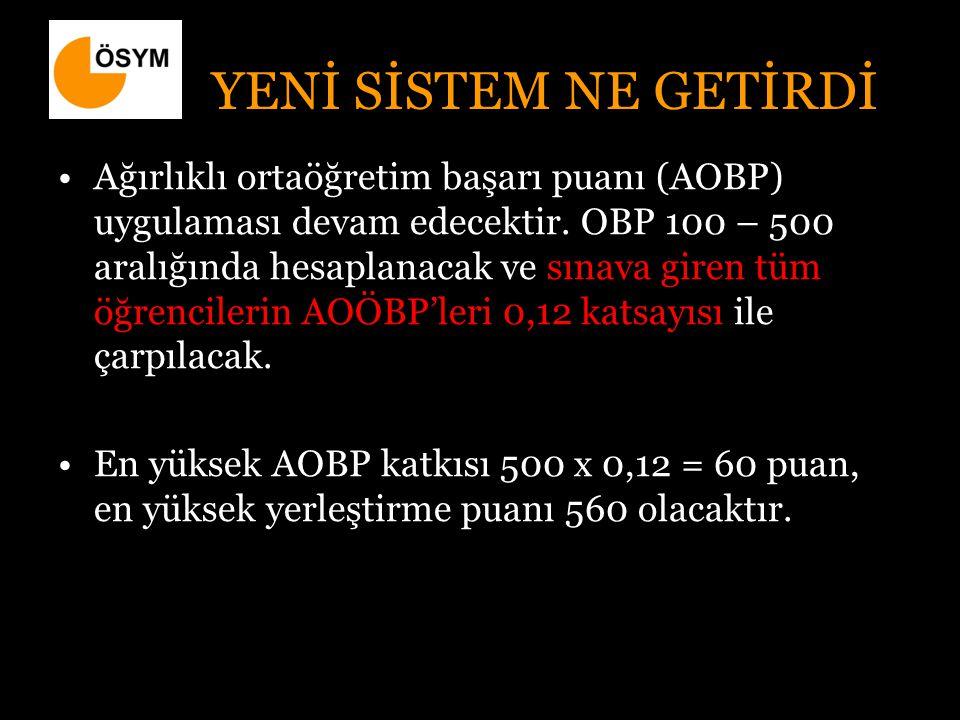Puan Türleri YGS LYS-5 (Dil) TürkçeT.