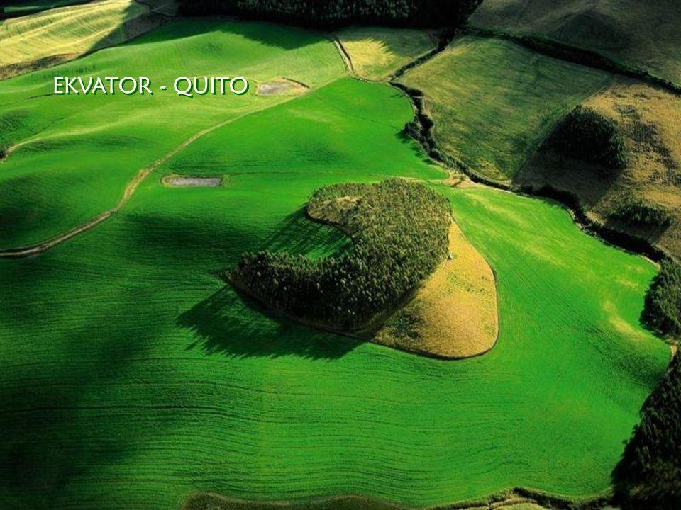 EKVATOR - QUITO EKVATOR - QUITO