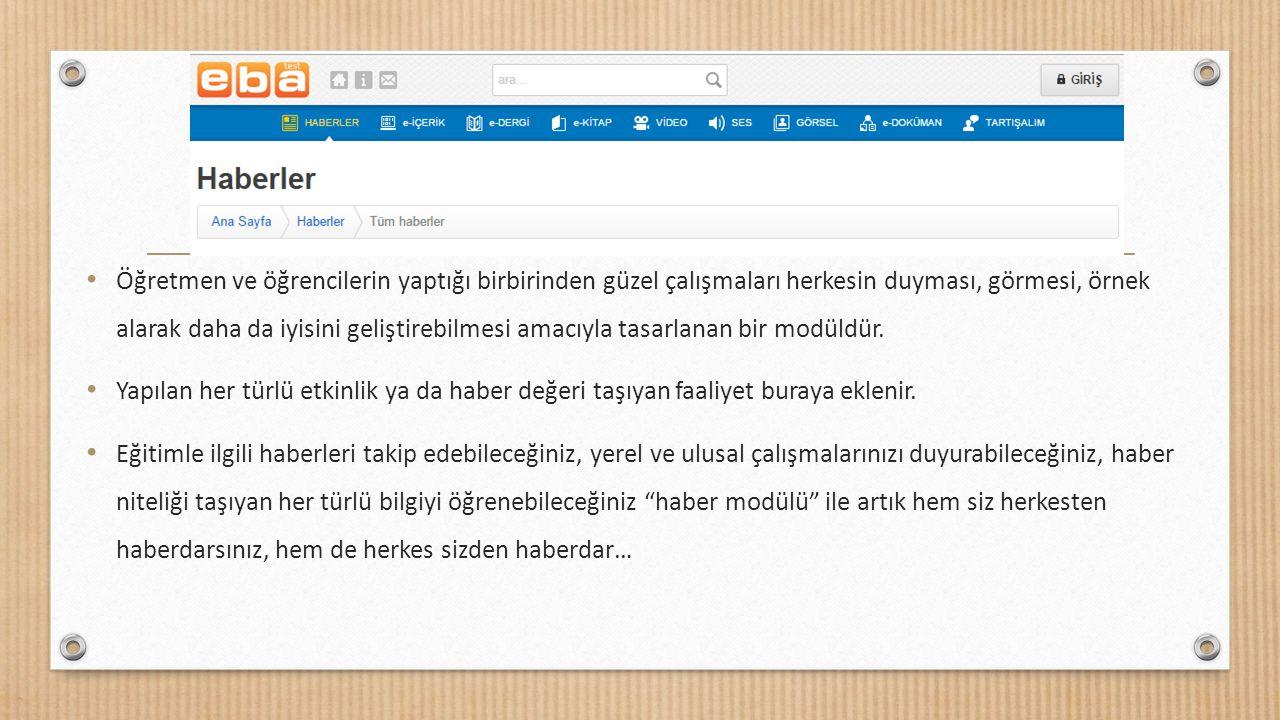 Eğitim Bilişim Ağı'nın e-kitap modülü derslerinizde kullandığınız ders kitaplarını e-kitap olarak PDF haliyle tabletinize veya tahtanıza indirebilmeniz ve buralarda kullanabilmeniz için tasarlanan bir modüldür.
