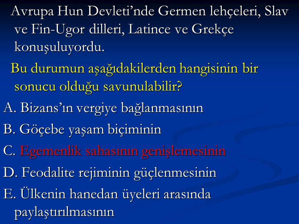Avrupa Hun Devleti'nde Germen lehçeleri, Slav ve Fin-Ugor dilleri, Latince ve Grekçe konuşuluyordu. Avrupa Hun Devleti'nde Germen lehçeleri, Slav ve F