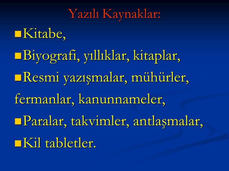 Türk tarihi hakkında en eski belgeler hangi devletin arşivlerinde bulunmaktadır.