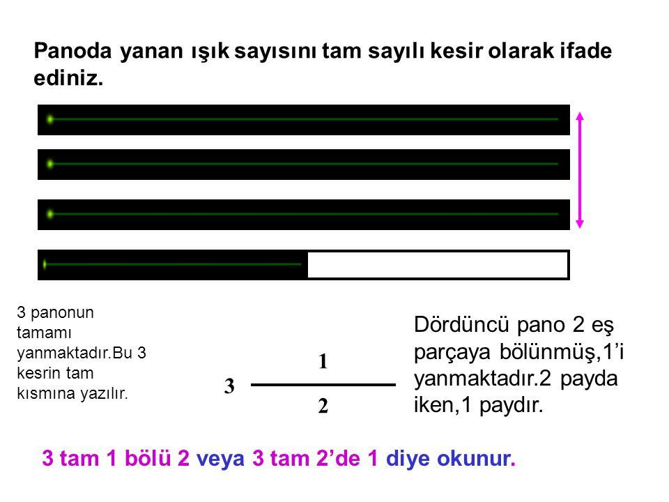 27 6 Bileşik kesri tam sayılı kesre çevirmek için,pay paydaya bölünür.Bölüm tama,kalan paya,bölen ise paydaya yazılır.