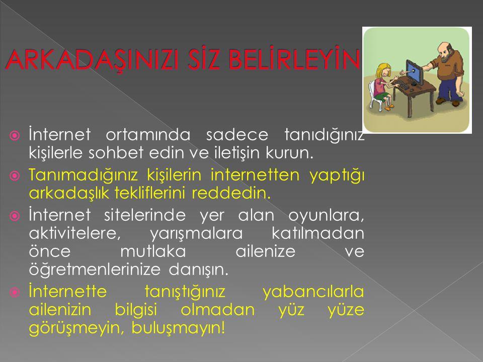  Cinsel tacizin posta, elektronik posta, internet ortamlarında teşhir suretiyle veya cep telefonu mesajları yoluyla işlenmesi durumunda verilecek cezalar, 3 yıl hapis cezası ile karşılık bulur Akademik Bilişim 2011, 02-04 Şubat, İnönü Üniversitesi/Malatya 18