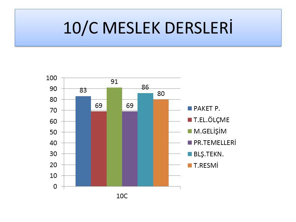 10/C MESLEK DERSLERİ