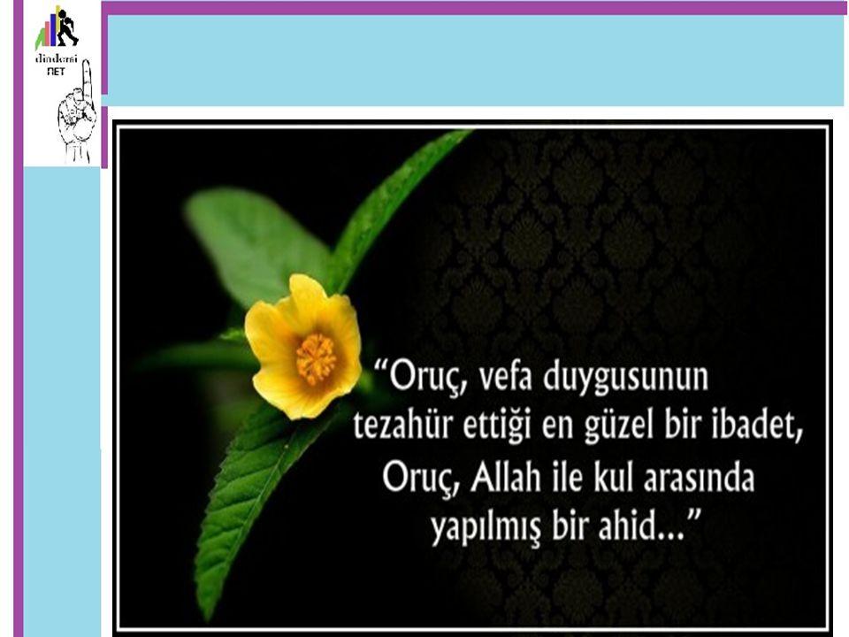 Nafile oruç Bir kişi kendi iradesiyle ve Ramazan ayı dışında oruç tutarsa bu da nafile oruçtur.