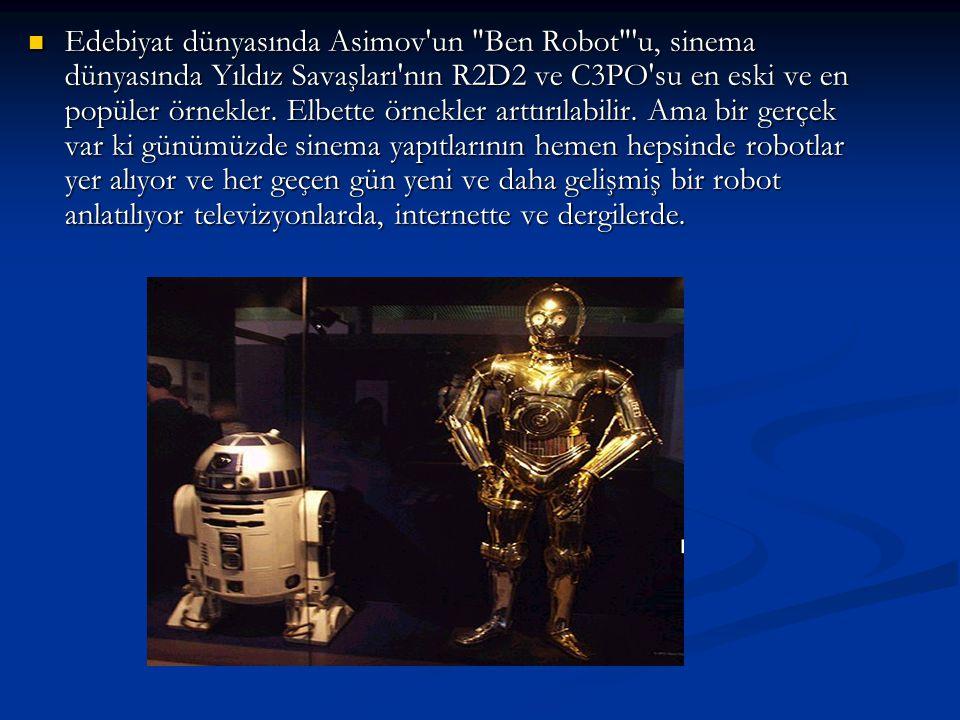 Edebiyat dünyasında Asimov'un