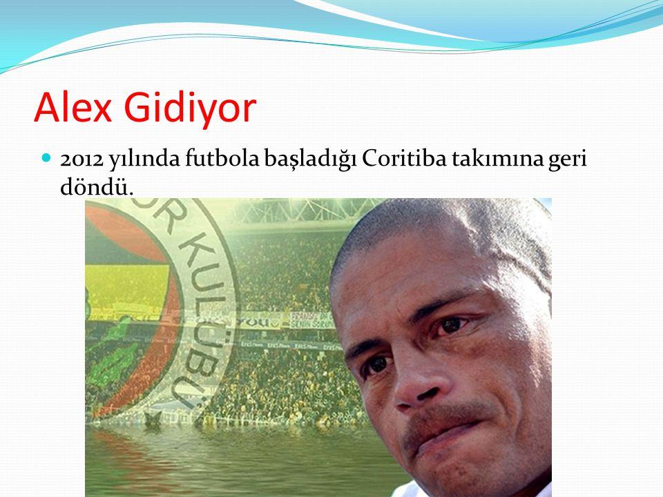 Alex Önemli Rekorlar Kırıyor 2007-2008 sezonu Şampiyonlar Ligi asist kralı olan Alex, Türkiye Ligi'nde 100'ler kulübü, Asist Krallıkları vs. gibi birç
