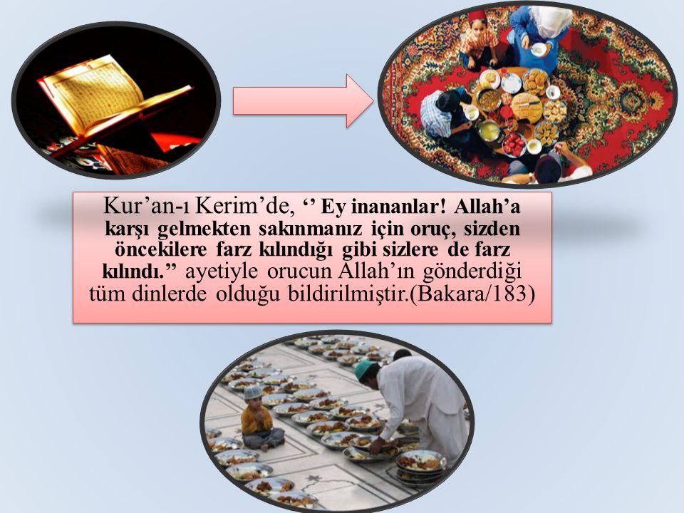 Kur'an-ı Kerim'de, '' Ey inananlar.