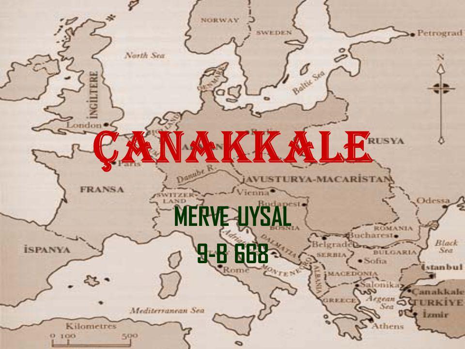 ÇANAKKALE MERVE UYSAL 9-B 668